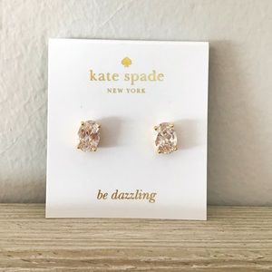 KATE SPADE Cubic Zirconia Stud Earrings